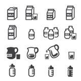 Εικονίδιο γάλακτος διανυσματική απεικόνιση
