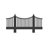 Εικονίδιο γεφυρών διανυσματική απεικόνιση