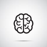 Εικονίδιο εγκεφάλου Στοκ φωτογραφία με δικαίωμα ελεύθερης χρήσης