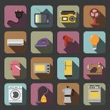 Εικονίδιο εγχώριων συσκευών Στοκ εικόνες με δικαίωμα ελεύθερης χρήσης