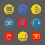 Εικονίδιο εικονοκυττάρου συσκευών Στοκ φωτογραφίες με δικαίωμα ελεύθερης χρήσης