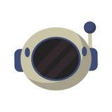 εικονίδιο εξοπλισμού αστροναυτών κρανών ελεύθερη απεικόνιση δικαιώματος