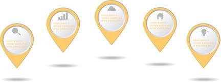 Εικονίδιο επιχειρησιακών στοιχείων Infographic διανυσματική απεικόνιση