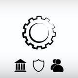 Εικονίδιο εργαλείων, διανυσματική απεικόνιση Επίπεδο ύφος σχεδίου Στοκ Εικόνες