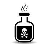 Εικονίδιο δηλητήριων Στοκ φωτογραφία με δικαίωμα ελεύθερης χρήσης
