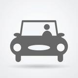 Εικονίδιο Ιστού αυτοκινήτων Στοκ Εικόνες