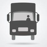Εικονίδιο Ιστού φορτίου φορτηγών Στοκ Εικόνες