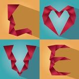 Εικονίδιο και σημάδι αγάπης Στοκ φωτογραφίες με δικαίωμα ελεύθερης χρήσης