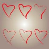 εικονίδιο καρδιών αρχείων 8 eps συμπεριλαμβανόμενο Στοκ φωτογραφία με δικαίωμα ελεύθερης χρήσης