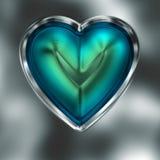 Εικονίδιο καρδιών Στοκ φωτογραφία με δικαίωμα ελεύθερης χρήσης