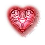 Εικονίδιο καρδιών Στοκ Φωτογραφίες