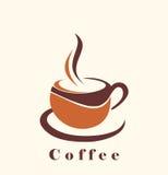 Εικονίδιο καφέ Στοκ Φωτογραφία