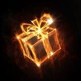 Εικονίδιο κιβωτίων δώρων Στοκ Εικόνες