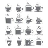 Εικονίδιο κουπών καφέ Στοκ Εικόνες