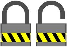 Εικονίδιο κλειδαριών Στοκ Εικόνες