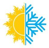 Εικονίδιο κλιματισμού Στοκ φωτογραφία με δικαίωμα ελεύθερης χρήσης