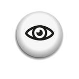 Εικονίδιο ματιών Στοκ εικόνα με δικαίωμα ελεύθερης χρήσης