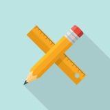 Εικονίδιο μολυβιών κυβερνητών ελεύθερη απεικόνιση δικαιώματος