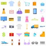 Εικονίδιο μόδας και πώλησης Στοκ Εικόνες
