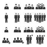 Εικονίδιο ομάδων ανθρώπων Στοκ εικόνες με δικαίωμα ελεύθερης χρήσης