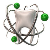 Εικονίδιο προστασίας δοντιών Στοκ φωτογραφίες με δικαίωμα ελεύθερης χρήσης