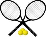 Εικονίδιο ρακετών αντισφαίρισης Στοκ φωτογραφία με δικαίωμα ελεύθερης χρήσης
