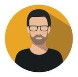 Εικονίδιο σημαδιών χρηστών Σύμβολο προσώπων Ανθρώπινο είδωλο Στοκ Φωτογραφίες