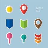 Εικονίδιο σημαδιών Στοκ Εικόνες