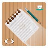 Εικονίδιο σημειωματάριων Στοκ φωτογραφία με δικαίωμα ελεύθερης χρήσης