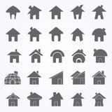 Εικονίδιο σπιτιών Στοκ εικόνα με δικαίωμα ελεύθερης χρήσης