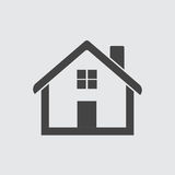 Εικονίδιο σπιτιών Στοκ εικόνες με δικαίωμα ελεύθερης χρήσης
