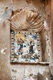 Εικονίδιο στο αρχαίο φρούριο μια από τις θέες Tarragona Στοκ εικόνες με δικαίωμα ελεύθερης χρήσης