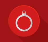 Εικονίδιο σφαιρών Χριστουγέννων Στοκ εικόνες με δικαίωμα ελεύθερης χρήσης