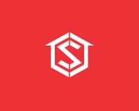 Εικονίδιο σχεδίου λογότυπων γραμμάτων π Στοκ Εικόνα