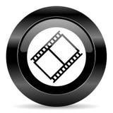 Εικονίδιο ταινιών Στοκ εικόνα με δικαίωμα ελεύθερης χρήσης