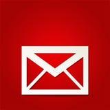 Εικονίδιο ταχυδρομείου Στοκ φωτογραφίες με δικαίωμα ελεύθερης χρήσης