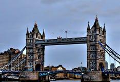 Εικονίδιο του Λονδίνου - η γέφυρα πύργων Στοκ εικόνες με δικαίωμα ελεύθερης χρήσης