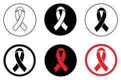Εικονίδιο του AIDS Στοκ Εικόνες