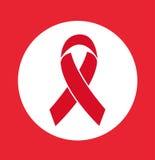Εικονίδιο του AIDS Στοκ φωτογραφία με δικαίωμα ελεύθερης χρήσης