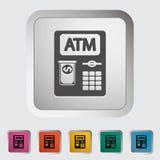 Εικονίδιο του ATM. Στοκ εικόνες με δικαίωμα ελεύθερης χρήσης