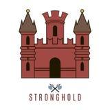 Εικονίδιο του Castle Στοκ Εικόνες