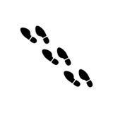 Εικονίδιο τυπωμένων υλών ποδιών Στοκ φωτογραφία με δικαίωμα ελεύθερης χρήσης