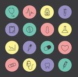 Εικονίδιο υγείας Στοκ εικόνα με δικαίωμα ελεύθερης χρήσης