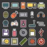Εικονίδιο υπολογιστών Στοκ Φωτογραφίες
