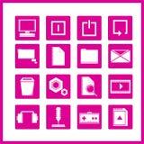 Εικονίδιο υπολογιστών Στοκ φωτογραφίες με δικαίωμα ελεύθερης χρήσης