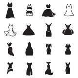 Εικονίδιο φορεμάτων Στοκ Εικόνες
