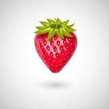 Εικονίδιο φραουλών στοκ εικόνα