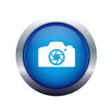 εικονίδιο φωτογραφικών μηχανών φωτογραφικό Στοκ φωτογραφία με δικαίωμα ελεύθερης χρήσης