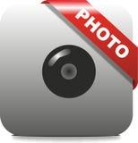 Εικονίδιο φωτογραφιών Στοκ εικόνες με δικαίωμα ελεύθερης χρήσης