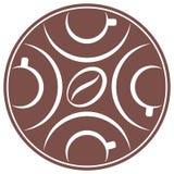 Εικονίδιο 1 φλυτζανιών καφέ Στοκ Εικόνες